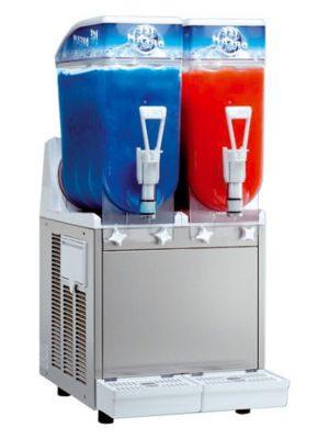 Slush Ice Maskine. 2 kammers-0