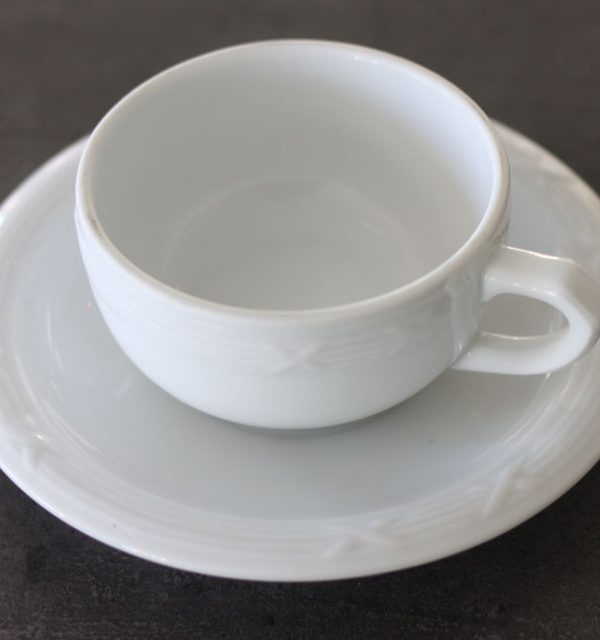 Kaffekop med underkop-8