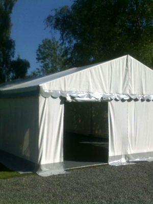 Telt 6x6 m max 40 pers. 36 kvm-0