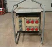 Byggetavle til strøm-0