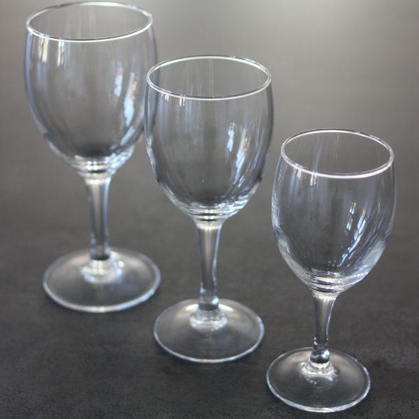 Rødvinsglas, Elegance-0