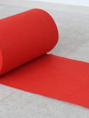 5 m rød løber