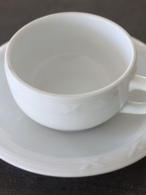 Kaffekop med underkop-0