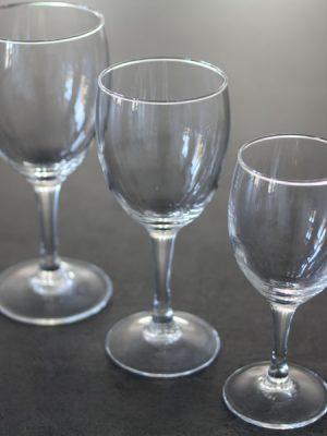 Hvidvinsglas, Elegance-0